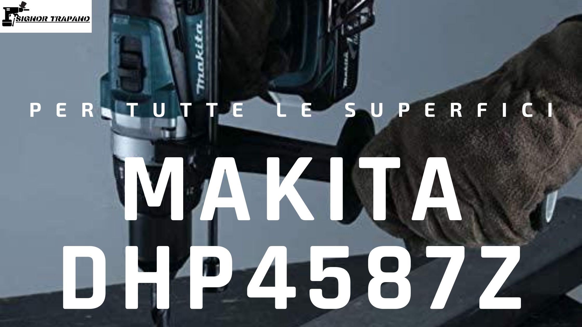 copertina Makita DHP458Z