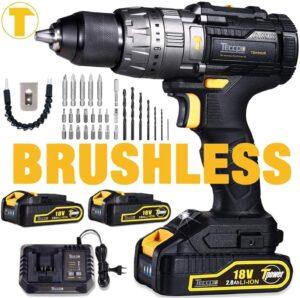 teccpo brushless 18 v